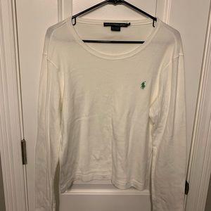 Polo Ralph Lauren | white long sleeved sweater